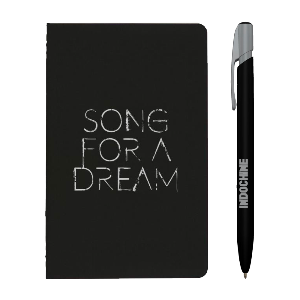 Carnet de notes Song For A Dream + stylo