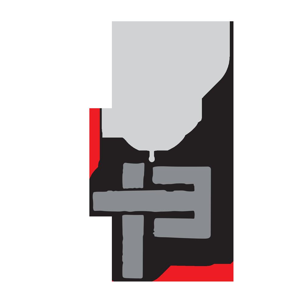 Porte-clés croix 13