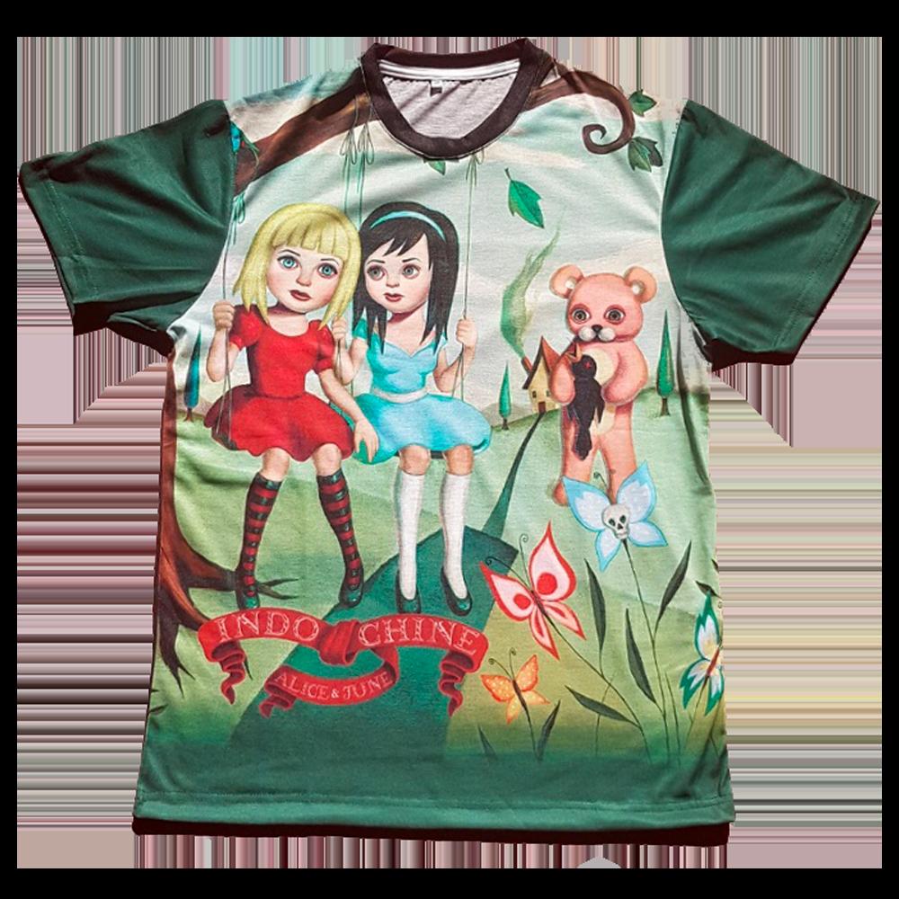 T-Shirt Total Print 'Alice & June'