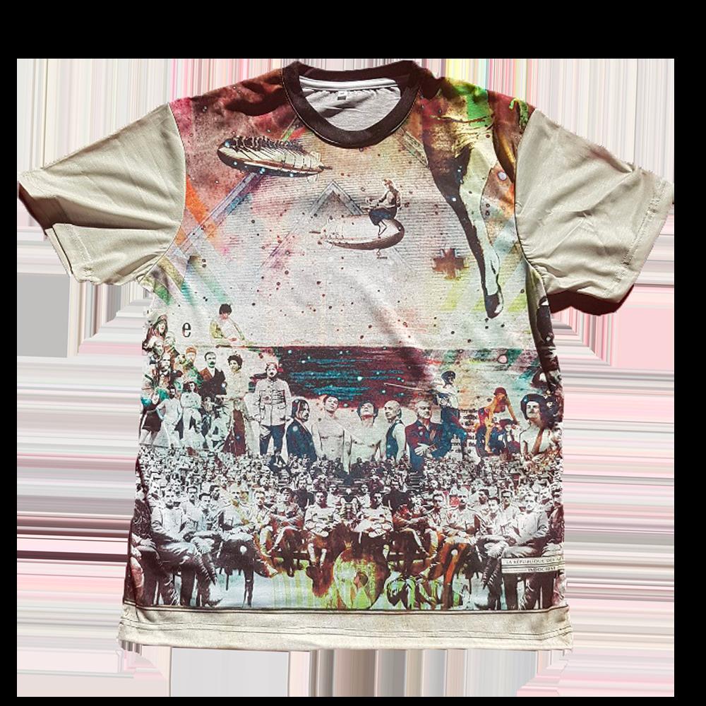 T-shirt Total Print 'La République des Meteors'
